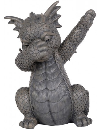 Dabbing Dragon Garden Statue Mythic Decor  Dragon Statues, Angels, Myths & Legend Statues & Home Decor