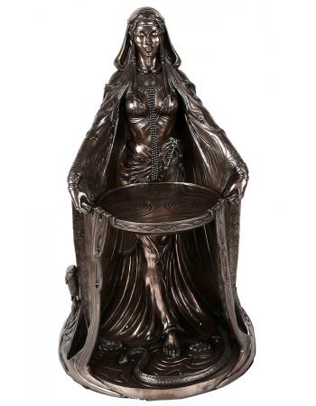 Danu Celtic Goddess Bronze Resin 16 Inch Statue Mythic Decor  Dragon Statues, Angels, Myths & Legend Statues & Home Decor