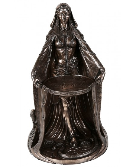 Danu Celtic Goddess Bronze Resin 16 Inch Statue at Mythic Decor,  Dragon Statues, Angels, Myths & Legend Statues & Home Decor