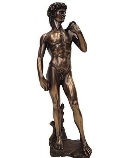 David by Michelangelo Classical Art Statue at Mythic Decor,  Dragon Statues, Angels, Myths & Legend Statues & Home Decor