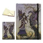 Dragon Charmer Embossed Fairy Journal at Mythic Decor,  Dragon Statues, Angels & Demons, Myths & Legends |Statues & Home Decor