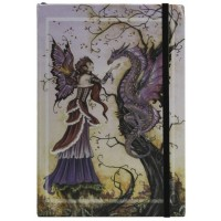 Dragon Charmer Embossed Fairy Journal