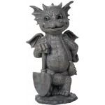Gardeneing Dragon Garden Statue at Mythic Decor,  Dragon Statues, Angels & Demons, Myths & Legends |Statues & Home Decor