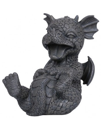 Laughing Dragon Garden Statue Mythic Decor  Dragon Statues, Angels & Demons, Myths & Legends |Statues & Home Decor