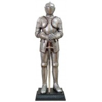 Knight with Sword Lifesize Suit of Armor Statue