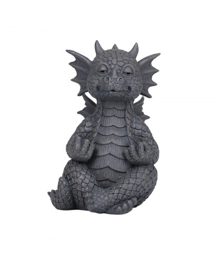 Meditation Small Dragon Garden Statue