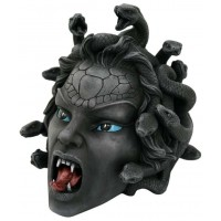 Medusa Head Greek Gorgon Statue
