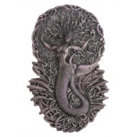 Mermaid Aine Plaque in Gray