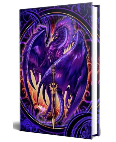 Dragon Nether Blade Embossed Journal at Mythic Decor,  Dragon Statues, Angels, Myths & Legend Statues & Home Decor