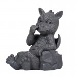 Nose Picker Dragon Garden Statue at Mythic Decor,  Dragon Statues, Angels, Myths & Legend Statues & Home Decor