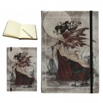Red Fairy Queen Embossed Journal at Mythic Decor,  Dragon Statues, Angels, Myths & Legend Statues & Home Decor