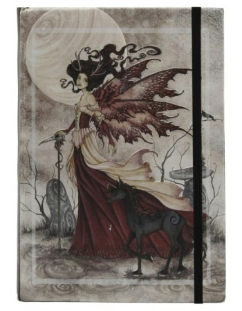 Red Fairy Queen Embossed Journal Mythic Decor  Dragon Statues, Angels, Myths & Legend Statues & Home Decor