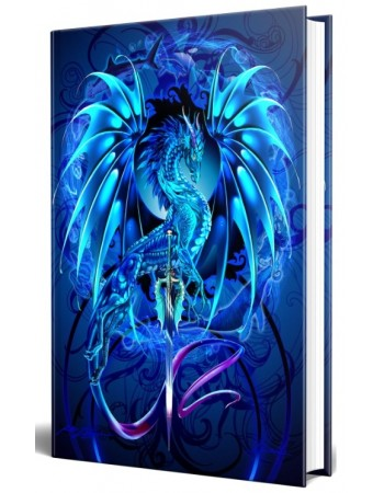 Dragon Sea Blade Embossed Journal Mythic Decor  Dragon Statues, Angels & Demons, Myths & Legends |Statues & Home Decor