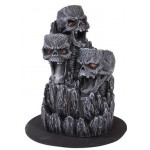 Skull Mountain Backflow Incense Tower at Mythic Decor,  Dragon Statues, Angels & Demons, Myths & Legends |Statues & Home Decor