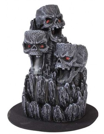 Skull Mountain Backflow Incense Tower Mythic Decor  Dragon Statues, Angels, Myths & Legend Statues & Home Decor