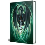 Dragon Skull Blade Embossed Journal at Mythic Decor,  Dragon Statues, Angels, Myths & Legend Statues & Home Decor
