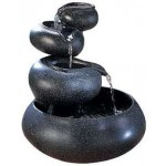 Four Tier Tabletop Water Fountain at Mythic Decor,  Dragon Statues, Angels & Demons, Myths & Legends |Statues & Home Decor
