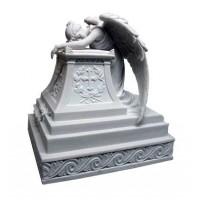 Mourning Angel Memorial Urn