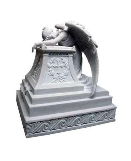 Mourning Angel Memorial Urn