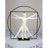 Vitruvian Universal Man by DaVinci Museum Replica Statue