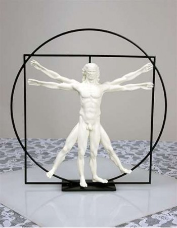 Vitruvian Universal Man by DaVinci Museum Replica Statue Mythic Decor  Dragon Statues, Angels, Myths & Legend Statues & Home Decor