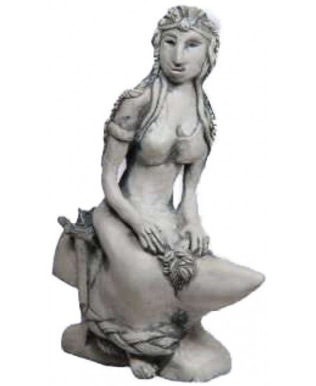 Brigid Goddess of the Hearth Small Statue at Mythic Decor,  Dragon Statues, Angels, Myths & Legend Statues & Home Decor