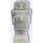 Coatlique, Aztec Goddess of Life, Death, and Rebirth Statue