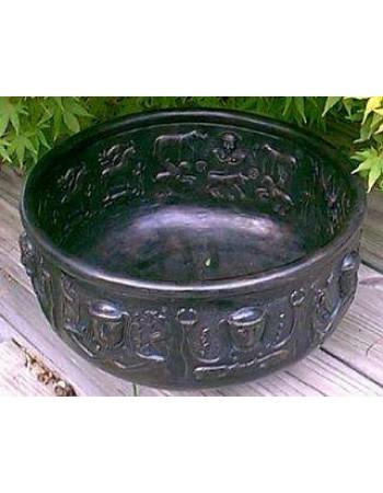 Gundustrup 12 Inch Resin Cauldron Mythic Decor  Dragon Statues, Angels, Myths & Legend Statues & Home Decor