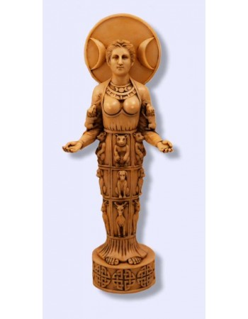 Diana of Ephesus Modern Goddess Statue Mythic Decor  Dragon Statues, Angels & Demons, Myths & Legends |Statues & Home Decor
