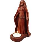 Moon Goddess Divine Feminine Votive Statue at Mythic Decor,  Dragon Statues, Angels, Myths & Legend Statues & Home Decor