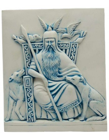 Odin Norse All-Father God Plaque Mythic Decor  Dragon Statues, Angels & Demons, Myths & Legends |Statues & Home Decor