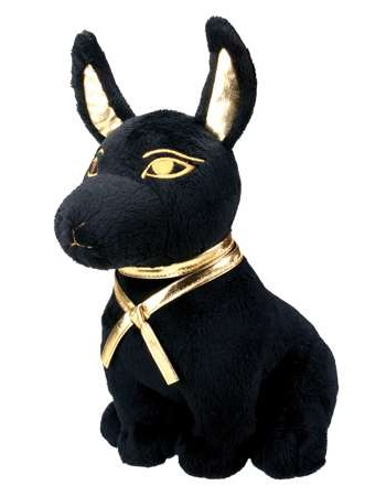 Anubis Egyptian Dog God Plushie Mythic Decor  Dragon Statues, Angels, Myths & Legend Statues & Home Decor