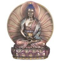 Buddha Anitabha Bronze Resin Statue
