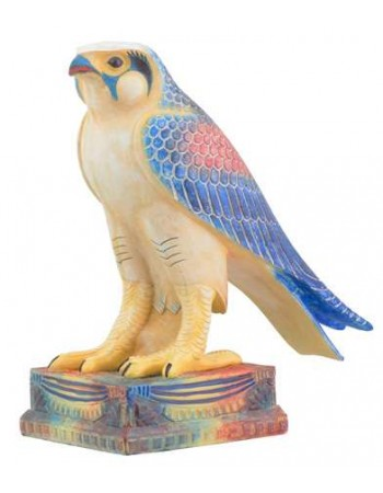 Horus Egyptian Falcon Egyptian Color Statue Mythic Decor  Dragon Statues, Angels, Myths & Legend Statues & Home Decor