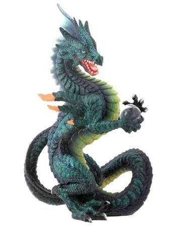 Spelll Fire Dragon Statue Mythic Decor  Dragon Statues, Angels, Myths & Legend Statues & Home Decor