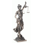 Lady Justice with Scales Bronze Statue at Mythic Decor,  Dragon Statues, Angels, Myths & Legend Statues & Home Decor