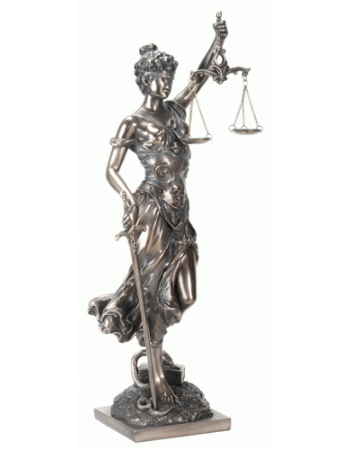 Lady Justice with Scales Bronze Statue Mythic Decor  Dragon Statues, Angels, Myths & Legend Statues & Home Decor