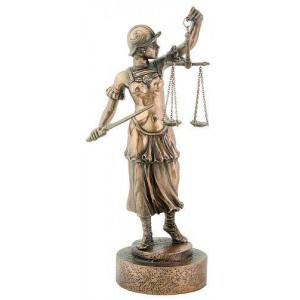 Lady Justice with Scales Warrior Bronze Statue Mythic Decor  Dragon Statues, Angels & Demons, Myths & Legends |Statues & Home Decor