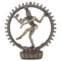 Shiva Bronze Resin Statue