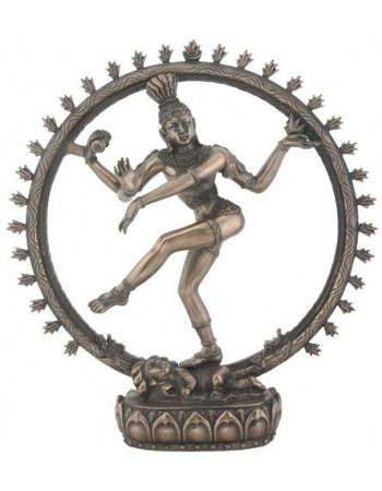 Shiva Bronze Resin Statue Mythic Decor  Dragon Statues, Angels, Myths & Legend Statues & Home Decor