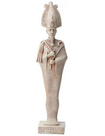 Osiris Egyptian God Limestone Color Statue - 8.5 Inches Mythic Decor  Dragon Statues, Angels, Myths & Legend Statues & Home Decor