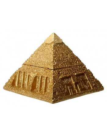 Pyramid Egyptian Golden 5 1/2 Inch Box Mythic Decor  Dragon Statues, Angels, Myths & Legend Statues & Home Decor