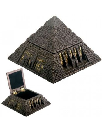 Pyramid Egyptian Bronze Finish 2 3/4 Inch Box Mythic Decor  Dragon Statues, Angels, Myths & Legend Statues & Home Decor