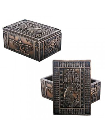 Isis Bronze Resin Jewelry Box Mythic Decor  Dragon Statues, Angels, Myths & Legend Statues & Home Decor