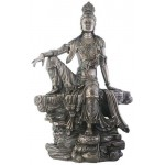 Kuan-Yin Water and Moon Goddess Statue at Mythic Decor,  Dragon Statues, Angels & Demons, Myths & Legends |Statues & Home Decor