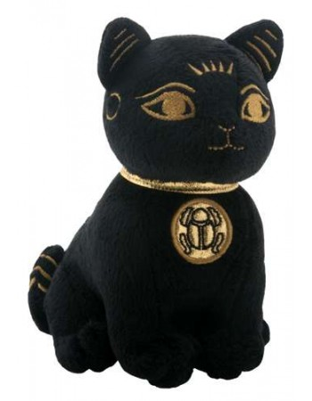 Bast Small Egyptian Cat Plushie Mythic Decor  Dragon Statues, Angels, Myths & Legend Statues & Home Decor