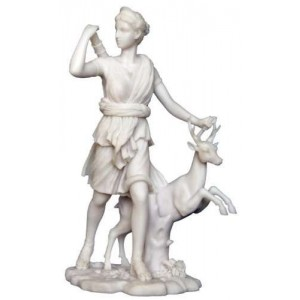 Diana of Versailles Greek Goddess of the Hunt Statue Mythic Decor  Dragon Statues, Angels & Demons, Myths & Legends |Statues & Home Decor