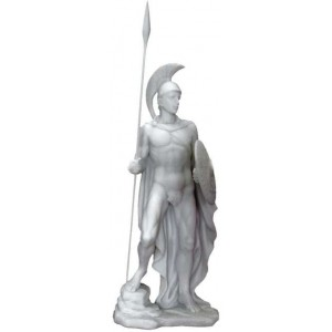 Ares Greek God of War Statue Mythic Decor  Dragon Statues, Angels & Demons, Myths & Legends |Statues & Home Decor