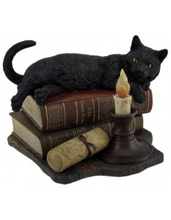 Witching Hour Black Cat Statue Mythic Decor  Dragon Statues, Angels, Myths & Legend Statues & Home Decor