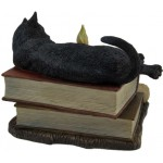 Witching Hour Black Cat Statue at Mythic Decor,  Dragon Statues, Angels, Myths & Legend Statues & Home Decor